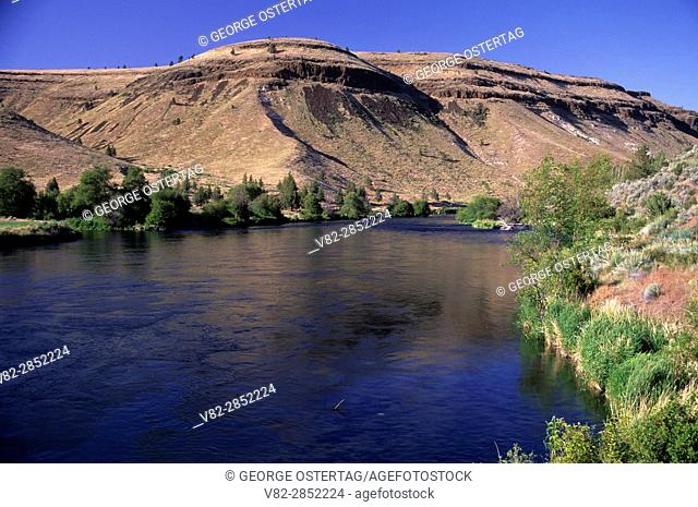 Deschutes Wild and Scenic River from Trout Creek Trail, Prineville District Bureau of Land Management, Oregon