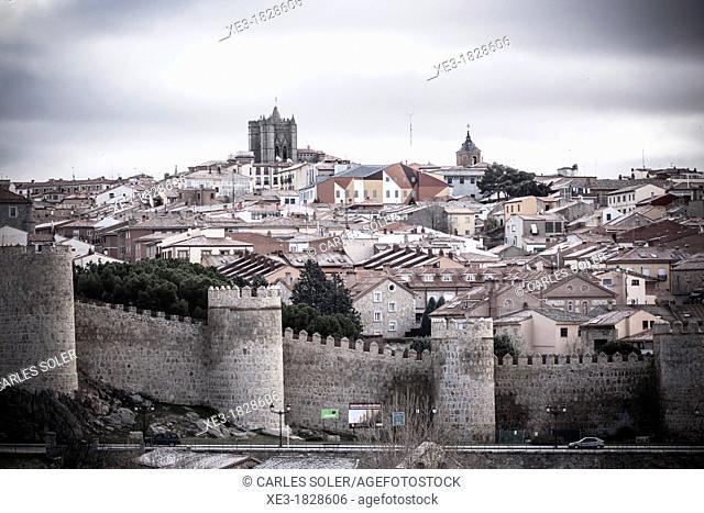 City Wall, Avila, Spain