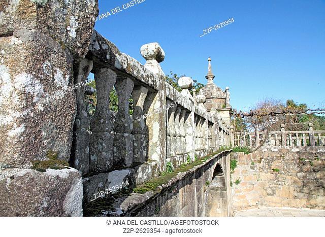 Fefinhanes stately house and garden in Cambados Pontevedra Galicia Spain