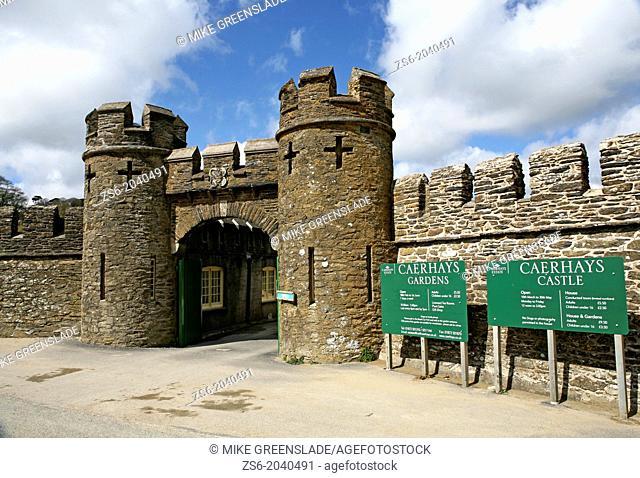 Caerhays Castle, Caerhays Estate, Goran, Cornwall, UK
