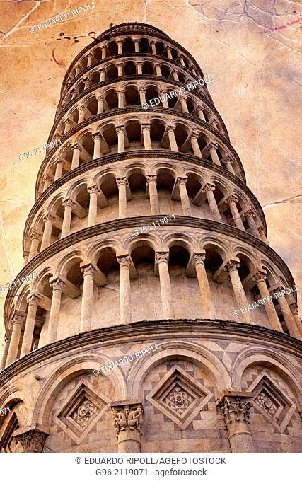 Leaning Tower Of Pisa, Piazza Dei Miracoli, Pisa, Tuscany, Italy