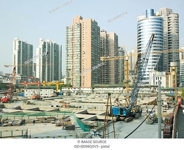 Construction in shanghai