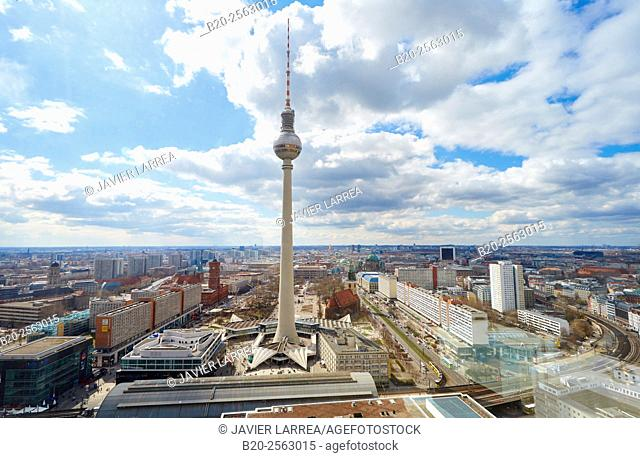 Television tower, Alexanderplatz, Berlin, Germany