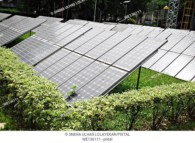 Solar pannels,Sarasbag,Poona,Mahrshtra,India