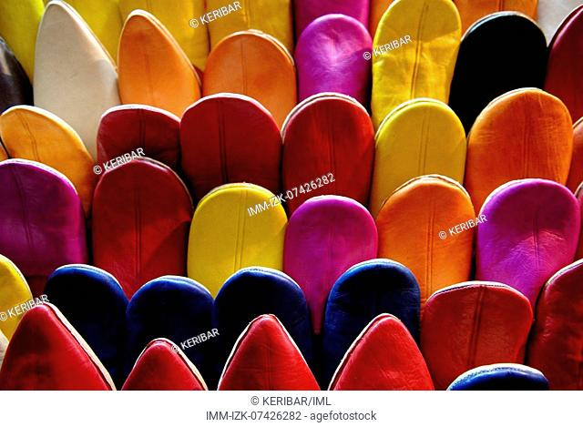 Slippers, Morocco, Africa