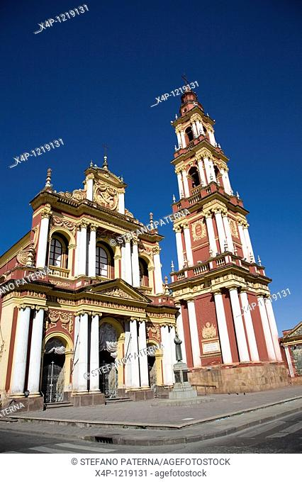 Cathedral San Francisco in Salta, Argentina