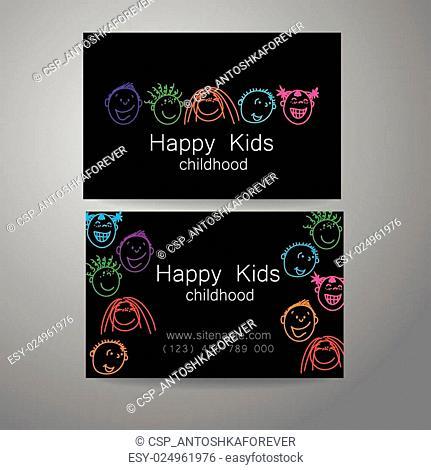 happy kids logo