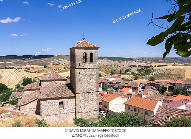San Pedro Church, Cogolludo. Guadalajara province, Castile La Mancha, Spain