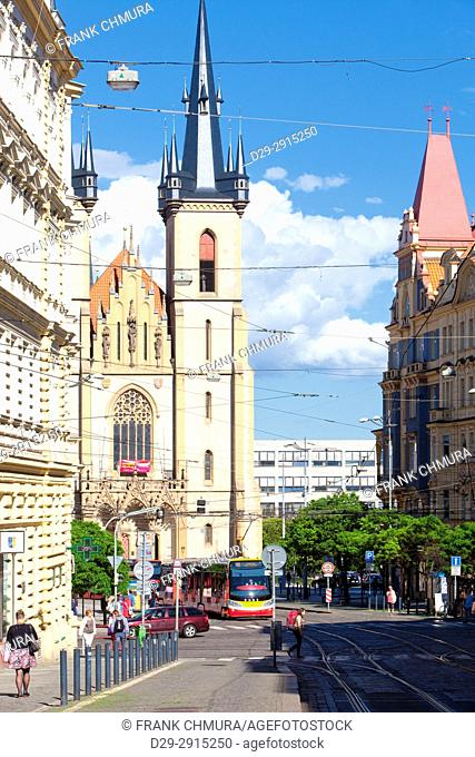 Czech Republic, Prague - Strossmaerovo Namesti (Square)