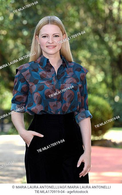 Jennifer Ulrich during the photocall of film ' Drive me home ' Rome, ITALY-17-09-2019
