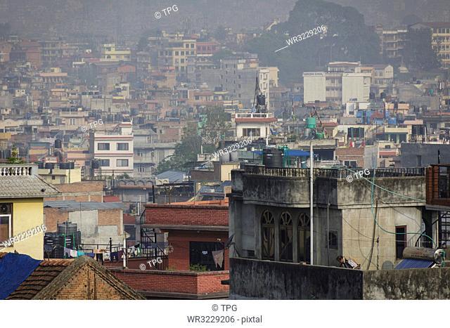 Kathmandu;city view