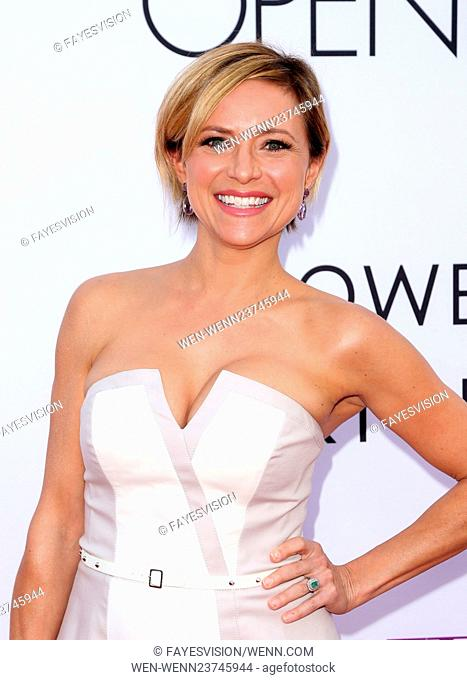 Open Roads world premiere of 'Mother's Day' at the TCL Chinese Theatre - Arrivals Featuring: Christine Lakin Where: Los Angeles, California