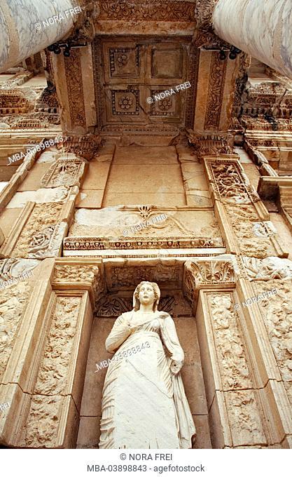 Turkey, Ephesos, ancient times, ruin