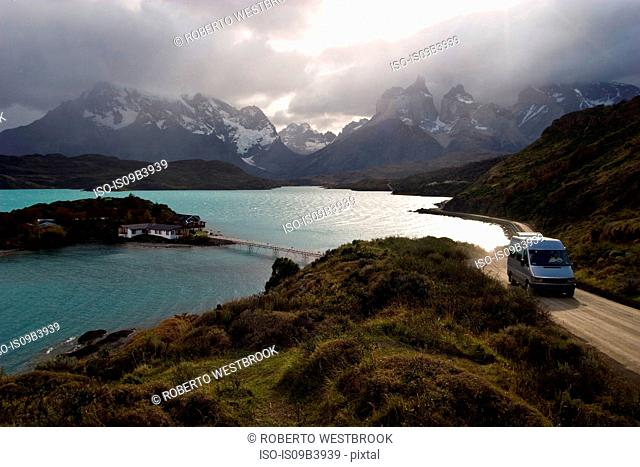 Lake PehoÚ, Patagonia, Torres del Paine National Park, Chile