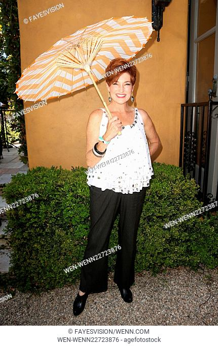 Los Angeles LGBT Center Hosts Annual Garden Party - An Afternoon In Tuscany Featuring: Carolyn Hennesy Where: Los Angeles, California