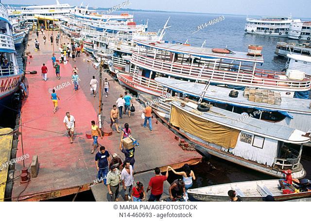 Port of Manaus. Amazonas state, Brazil (2005)