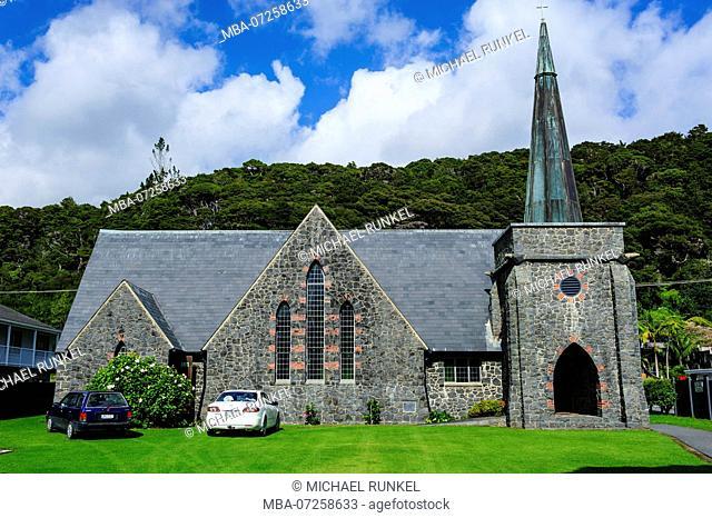 St. Paul church in Paihia, Bay of Islands, North Island, New Zealand