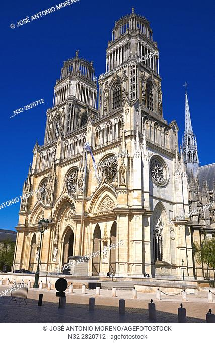 Orleans, Ste. Croix Cathedral, Orleans, Loire Valley, UNESCO World Heritage Site, Loiret department, Centre region, France, Europe