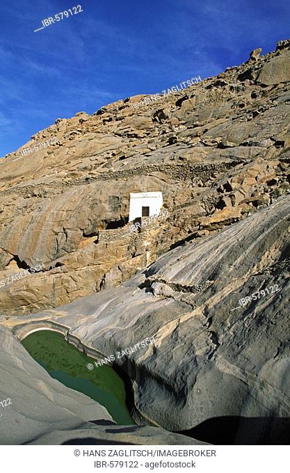 Chapel Ermita de la Pena, Vega de Rio de las Palmas, Fuerteventura, Canary Islands, Spain