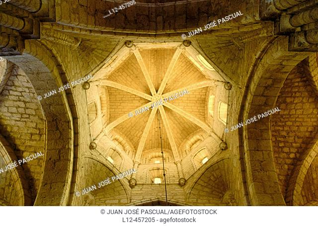 Dome of church, Villamuriel de Cerrato. Palencia province, Castilla-León, Spain