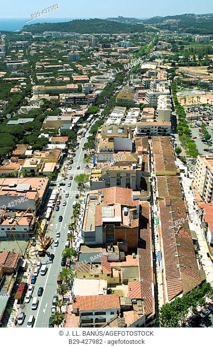Platja d'Aro. Costa Brava, Girona province. Catalonia, Spain
