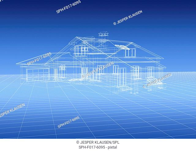 Design for a house