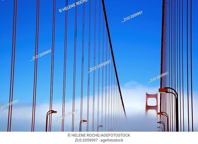The Golden Gate Bridge, San Francisco, California, United States of America