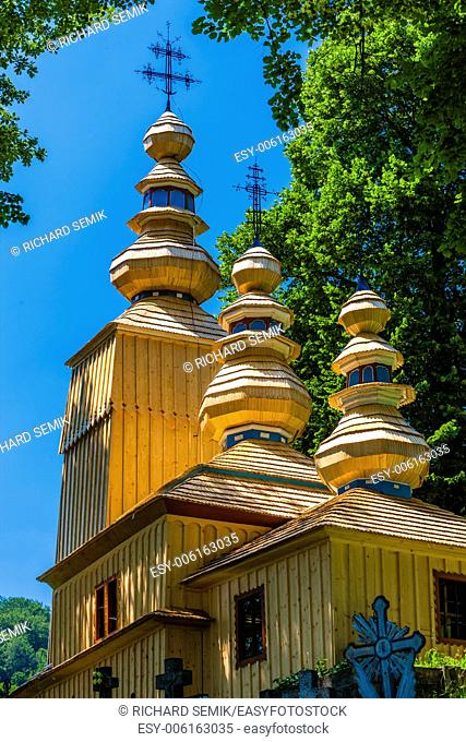 wooden church, Hunkovce, Slovakia