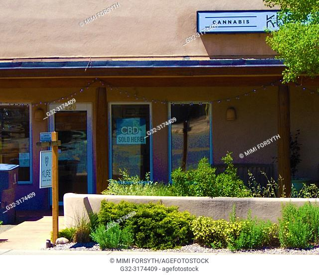cannabis shop, Santa Fe, New Mexico