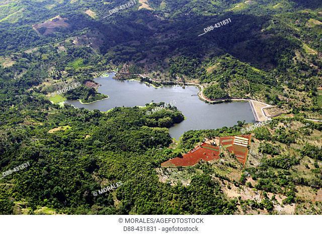 Combani dam. Mayotte