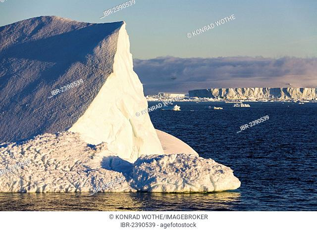 Icebergs, Antarctic Sound, Weddell Sea, Antarctica