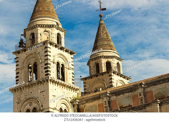 Acireale Cathedral, Sicily, Italy