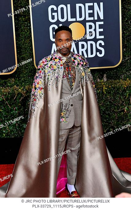 LOS ANGELES, CA. January 06, 2019: Billy Porter at the 2019 Golden Globe Awards at the Beverly Hilton Hotel. © 2019 JRC Photo Library/PictureLux ALL RIGHTS...