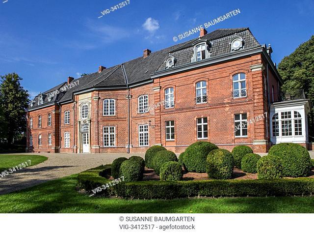 Princes House Plön. - PLOEN, SCHLESWIG-HOLSTEIN, GERMANY, 04/09/2012