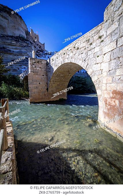 Roman bridge, located in the central part of the town, to its passage by the river Jucar, at the top of mountain limestone is situated castle of Almohad origin...