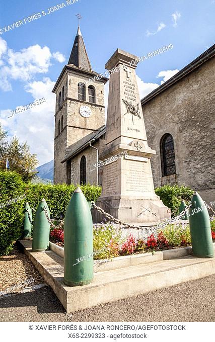 École village in the Massif des Bauges, Savoie, Rhône-Alpes, France