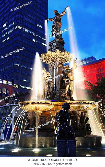 Tyler Davidson Fountain, Cincinnati