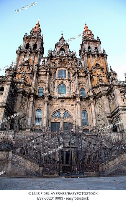 Cathedral of Santiago de Compostela, La Coruña, Spain, Europe