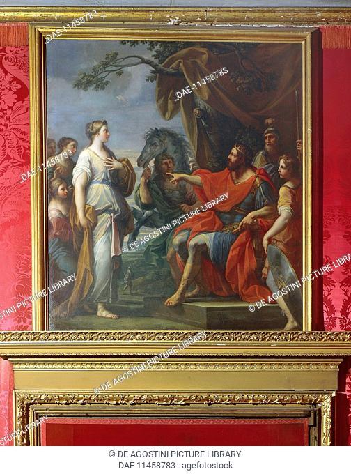 Cloelia and Lars Porsena, by Placido Costanzi (1688-1759), Royal Palace, Residence of the Royal House of Savoy (UNESCO World Heritage List, 1997), Turin
