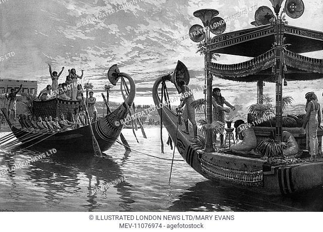 Episode II: From the Palace to the Tomb - The Journey Across the Nile. Second in a series of historical reconstructions by Sphere special artist