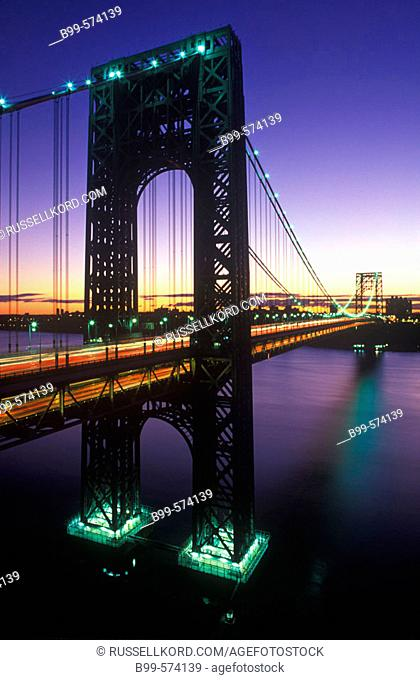 George Washington Bridge, Manhattan, New York, USA
