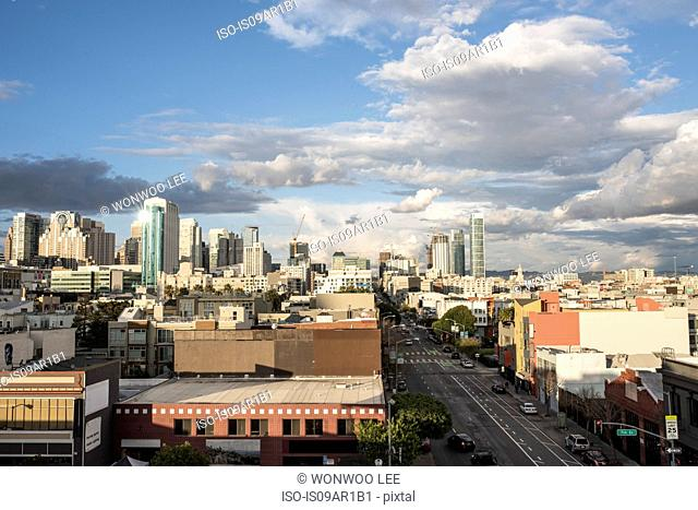 Cityscape of SoMA, San Francisco, California