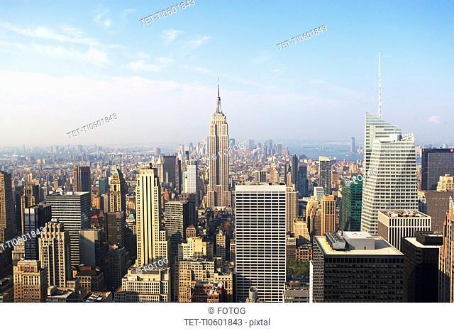 USA, New York State, New York City, Manhattan, Cityscape