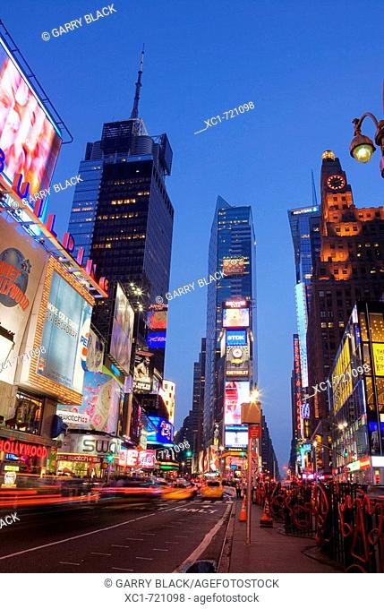 Times Square, Manhattan, New York City, New York, USA