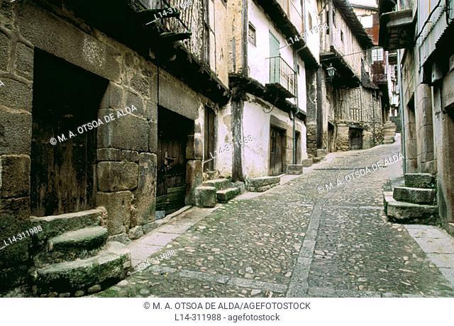 Mogarraz. Salamanca province, Spain