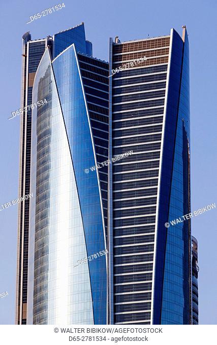 UAE, Abu Dhabi, Etihad Towers