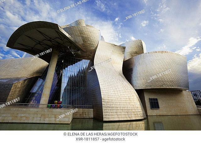 Guggenheim Museum Bilbao, Biscay, Basque Country, Spain