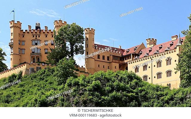Castle Hohenschwangau, Bavaria, Germany, Europe