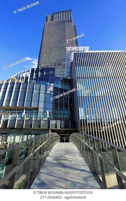 Japan, Tokyo, Tokyo Midtown, modern architecture,