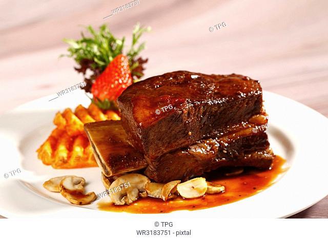 bone in beef steak